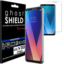 3x TECHGEAR (TPU) Clear FULL COVERAGE Screen Protector Covers for LG V30 (H930)