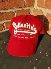 Vintage Snapback Trucker Corduroy Sollecito's Pizza Boone N. Carolina  App State
