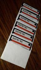 Quattro Pro Borland 3.0 Dos vintage software lot of 6 disk diskette complete set