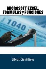 MICROSOFT EXCEL. FORMULAS y FUNCIONES by Libros Científicos (2016, Paperback)