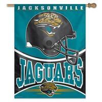 Jacksonville Jaguars Vertical Outdoor House Flag