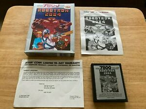 Robotron 2084 Atari 7800 Complete Boxed Game & Manual CX7809
