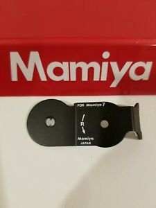 Mamiya 7 II / Mamiya 7 panoramic adapter PLATE (NEW PART for repair replacement)