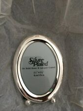 Small Silver Plated Vintage Photo Frame