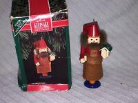 """1992 Hallmark """"Otto The Carpenter"""" Nutcracker Collection Christmas Ornament"""