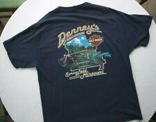 9d201bbf6 Harley-Davidson T-Shirt Springfield, Missouri Short Sleeve Blue Sz:XL
