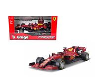 Bburago 1:43 Ferrari Racing 2020 F1 F1000 Tuscan GP #5 Sebastian Vettel 36823SV