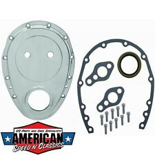 Steuerkettendeckel ALU Chevrolet Small Block 283-350 Timing Gear Cover von RPC