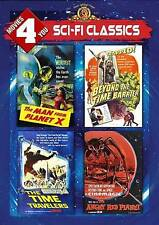 Movies 4 You: Sci-Fi Classics (DVD, 2013) The Time Travelers, Angry Red Planet..