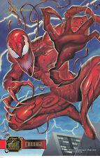 X-Men:95 Flair:Marvel Annual-Lot 5 - Print Large Card