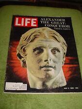 LIFE MAGAZINE MAY 3 1963 BOSTON MARATHON CAROL LYNLEY SHEIK SHAKBUT RED CHINA