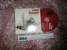 CD Indie Dear reader-Great white bear (2 chanson) promo City argot