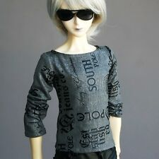 [PF] 06# Gray T-Shirt/Outfit/Clothing 1/4 MSD DZ AOD LUTS BJD Doll Dollfie