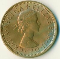 1966 FLORIN TWO SHILLINGS QUEEN ELIZABETH II. UNC WITH TONING  #WT11123