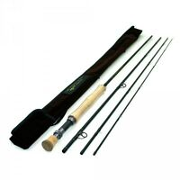 """TFO TEMPLE FORK OUTFITTERS PROFESSIONAL SERIES II 9'0"""" 9 WEIGHT 4PC FLY ROD+BAG"""