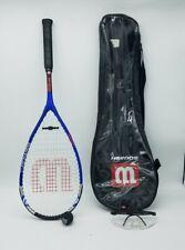 Wilson Ti. Power Squash Racquet TItanium w/ soft case