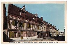 CPA 78. HOUDAN (Yvelines) Maison du XVIe siècle. Ancien Hôtel de la Fleur de Lys