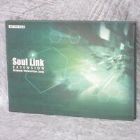 SOUL LINK EXTENSION Original Illustration Book Art Material Set Japan PS2 Ltd
