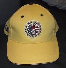 0a84e22dc24 2005 US Open PGA Golf Tournament Pinehurst No.2 Yellow Hat Cap - Vintage NEW