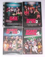 DVD: Sammlung SCARY MOVIE 1-4 (1 + 2 + 3 + 4) / Komplett Deutsch