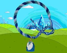 Adventure Time friendship bracelet with Ice King. (BMO, Finn, Jake etc)