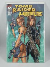 Tomb Raider Witchblade 1A Turner Variant NM/Mint 1997 Stock Image