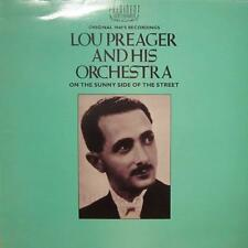 LOU PREAGER et son orchestre (VINYL LP) on the sunny side of the street-EX/Presque comme neuf