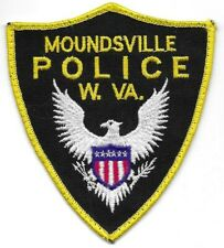 Moundsville WEST VIRGINIA WV Police patch OLD