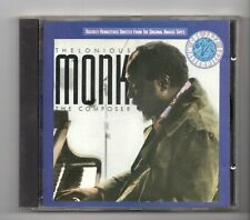 (JS865) Thelonious Monk, The Composer - 1988 CD