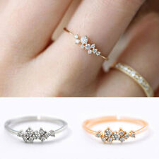 Classic Women Rings New Size 6-10 Engagement Ring diamond Bridal Jewelry Gifts