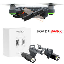 1 Pair 60 Degree Adjustable Night Flight Led Lights Lamp for Dji Spark Drone Rc