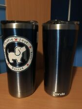 New 1 of 2 Tervis Tumbler 20 oz Puppy Puppie Love Rescue blue coffee mug