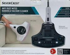 Silvercrest Sterilising UV Lamp Anti Dust Mites Handheld HEPA Vacuum Cleaner NEW