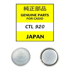 Panasonic CTL920F / CTL 920 Genuine Casio Replacement Solar Batteries (G-shock)