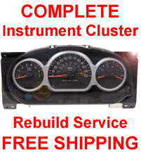PONTIAC AZTEK Speedometer Instrument Cluster Gauge and Display REPAIR