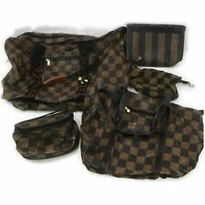 Fendi Nylon PVC PVC Travel Bag Pouch Vanity Bag Clutch 5 pieces set 517394