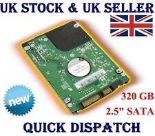 """320GB 2.5"""" SATA HARD DRIVE FOR TOSHIBA SONY DELL HP SAMSUNG ACER AND APPLE"""