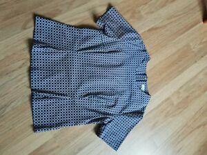 Kew 159 stretch cotton blouse size 16