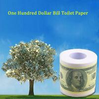 One Hundred Dollar Bill Toilet Paper Novelty Fun $100 TP Money Roll Gag Gift QT