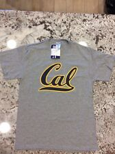 Nwt Cal Bears Women's T-shirt Crewneck Gray Short-Sleeve Size Medium 2 Available