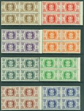EDW1949SELL : Wallis & Futuna 1944-46 Scott # 127 40,141 48 Cplt Ensembles Blks
