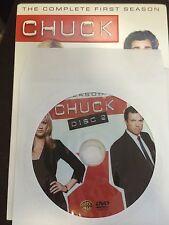 Chuck - Season 1, Disc 2 REPLACEMENT DISC (not full season)