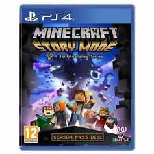 PlayStation 4 Minecraft: Story Mode PS4 - A Telltale Game Excellent - 1st Class