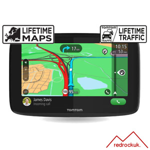 "TomTom GO Essential 6"" GPS Sat Nav - Full Europe - Lifetime Maps, Traffic - WiFi"