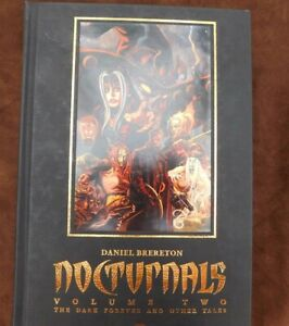 NOCTURNALS VOL. Two -Hardcover SIGNED by Daniel Brereton Image DARK FOREVER+