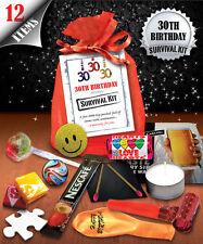 30th Birthday Survival Kit - Fun Novelty Gift