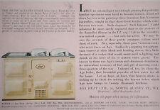 Aga Range Cooker James Tissot The Picnic 1937 Advertisement Ad 7656