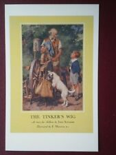 POSTCARD  LADYBIRD BOOK COVER - THE TINKERS WIG