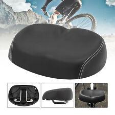 US Big Ass Bicycle Bike Cycling Noseless Saddle Wide Large Soft PVC PU Pad Seat