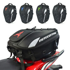 Motorcycle Tail Bag Rear Seat Bag Rider Backpack Multi-functional Waterproof